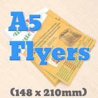 A5 Flyers & Leaflets