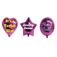 Personalised Foil Balloons (medium)