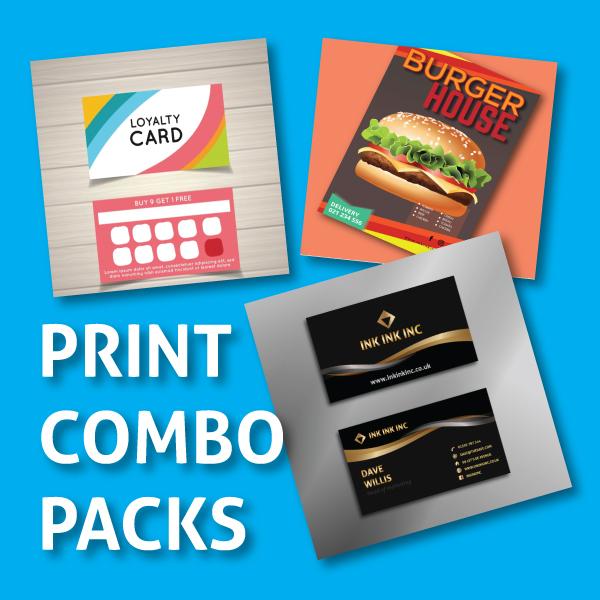 Paper printing combo packs