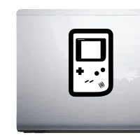Nintendo Gameboy Silhouette – Car Van Laptop decal sticker