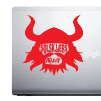 Solskjærs Army Manchester United – Car Van Laptop decal sticker